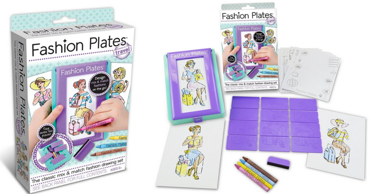 Amazon Fashion Plates Travel Kit Only 9 95 More Today Only Hip2save