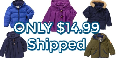 Gymboree: *HOT* Winter Jackets & Boots ONLY $14.99 Each (Or Less)