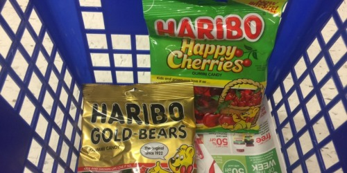 Walgreens: Haribo Gummy Candy Only 50¢ Per Bag + Nice Savings on Brookside Chocolate