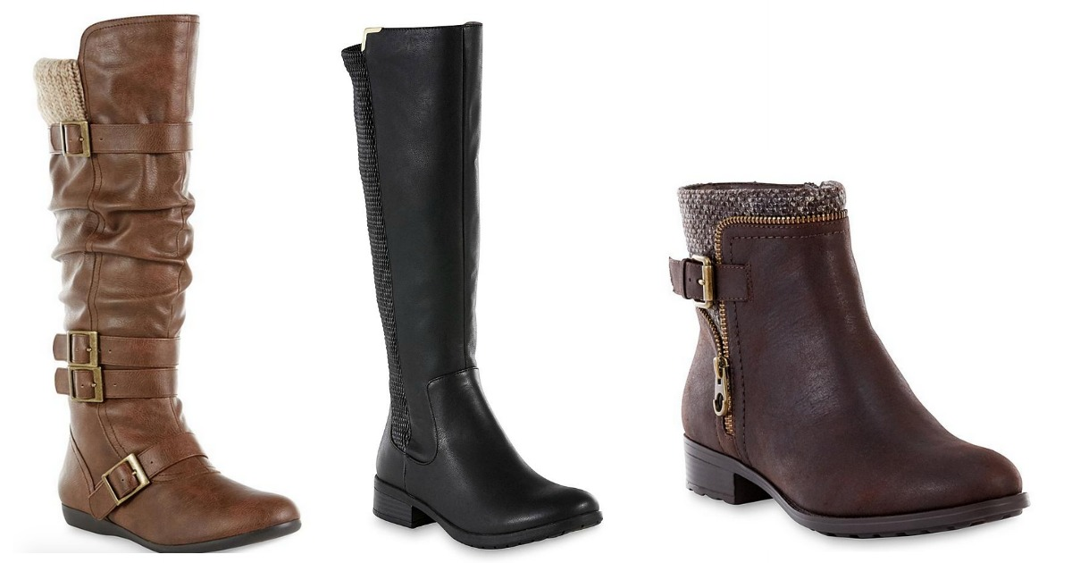 ff02f07ea51 Sears: OVER 60% Off Women's Boots (Prices Start at Just $12.49 Per ...