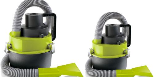 Kohl's: Sharper Image Multifunction Wet & Dry Auto Vacuum Only $7.49 (Regularly 19.99)