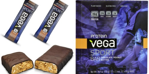 Amazon Prime: Vega Sport Protein Bars 12-Count Only $11.24 Shipped (Just 94¢ Per Bar!)