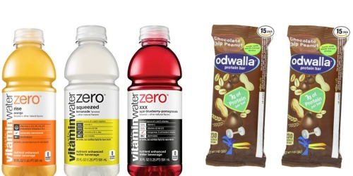 Amazon: 12 Odwalla Protein Bars Only $9.17 (Just 61¢ Each)+ Great Buy on Vitamin Water Zero