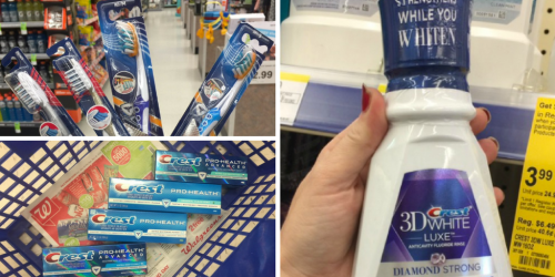 Walgreens: Better Than FREE Crest & Oral-B Mouthwash, Toothpaste & Toothbrushes