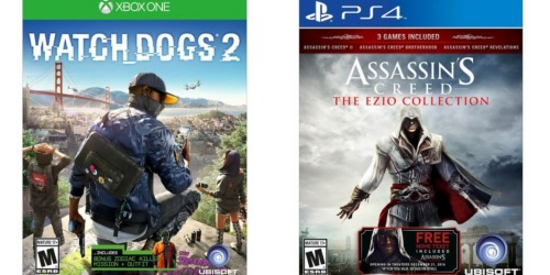 Great Buys on Assassin's Creed & Watch Dogs 2 Video Games