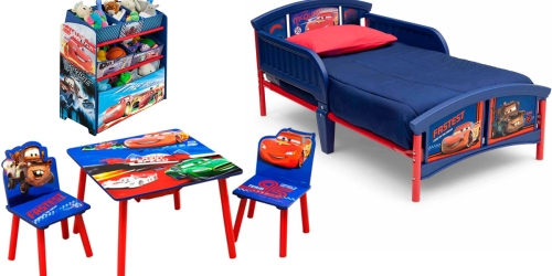 Walmart.com: Disney Toddler Bed, Table & Chairs AND Toy Organizer $99.98 Shipped (Regularly $146)