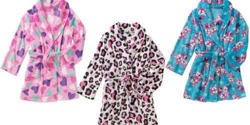 Walmart: Girls' Plush Robes Only $5 (Regularly $12.97)