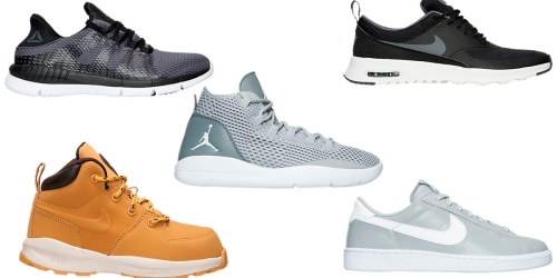 Finish Line: 60% Off Nike & Reebok Shoes = Men's Air Jordan Off Court Shoes Only $49.98 & More