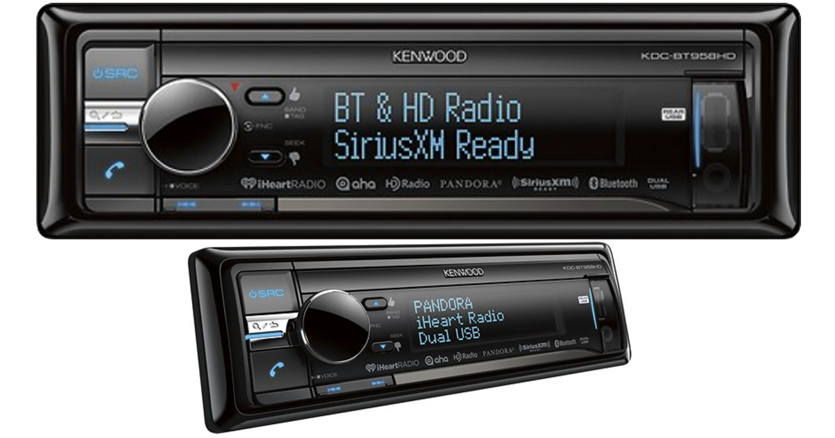 Kenwood Car Stereo w/ 2 USB Ports Only $124.99 Shipped (Regularly $249) – Apple iPod/iPhone Ready