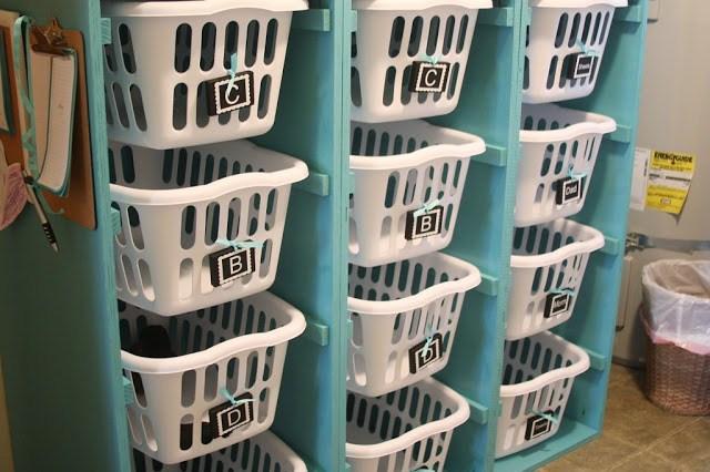 Laundry Basket Closet Hack