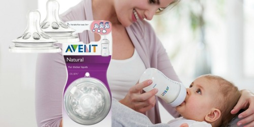 Target.com: Avent Natural Variflow Nipple 2 Pack Only $1.91