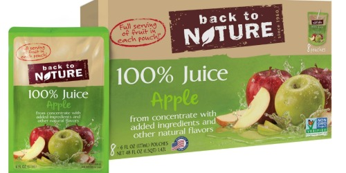 Target: Back to Nature Juice Box 8-Packs Only $1.25 (After Ibotta)