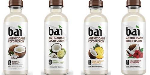 Amazon: TWELVE Bai Cocofusions 18 Ounce Bottles Only $14.99 Shipped (Just $1.25 Each)