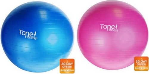Walmart.com: Tone Fitness Stability Ball Only $5