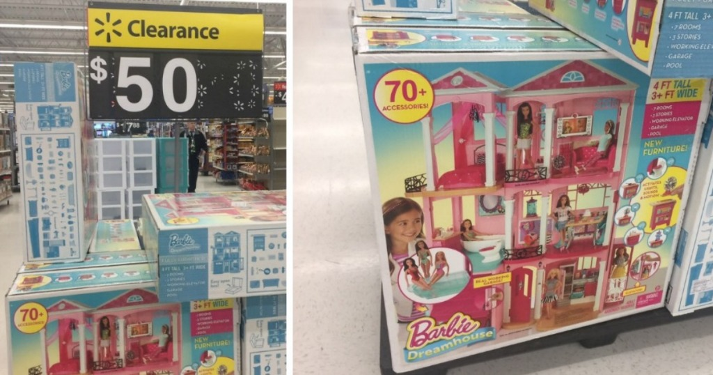 Walmart Clearance Barbie Dreamhouse Possibly Only 50 Regularly