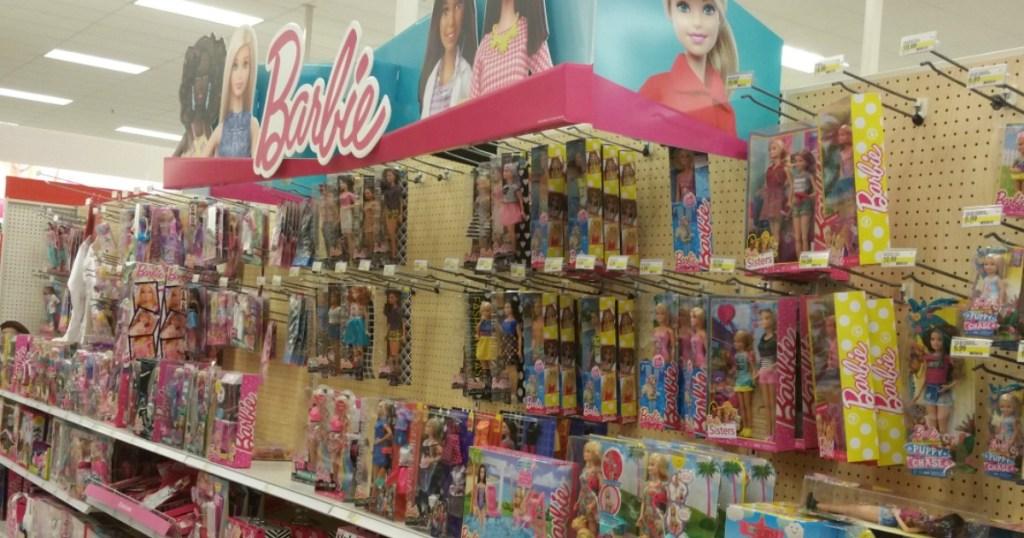 Barbies at Target
