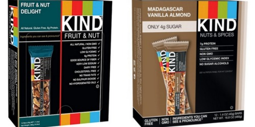 Amazon: KIND Fruit & Nut Delight Gluten Free Bars 12-Pack Only $10.06 Shipped + More