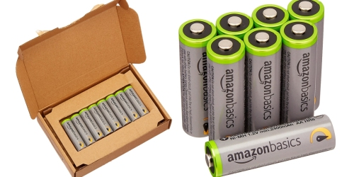 Amazon Basics AA High-Capacity Rechargeable Batteries 8-Pack Only $15.99 Shipped