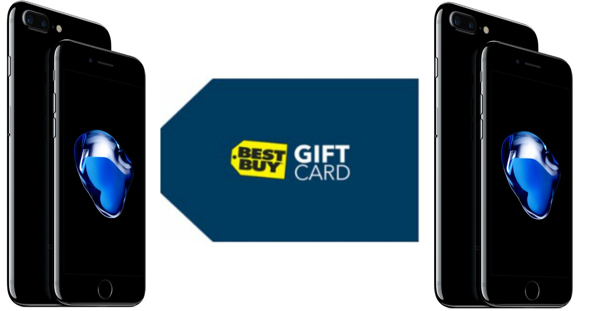 Best Buy Free 250 Gift Card W Iphone 5s Trade In And Iphone 7 Activation Check Inbox For Offer Hip2save