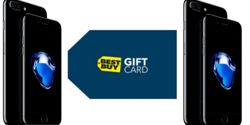 Best Buy: FREE $250 Gift Card w/ iPhone 5s Trade In and iPhone 7 Activation + Check Inbox for Offer