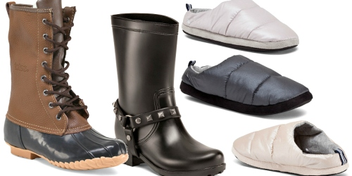 TJ Maxx: Boot Clearance Event + Free Shipping = Women's Lace Up Duck Boots $14 Shipped + More