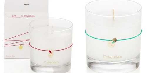 Macy's.com: Calvin Klein 7.5 oz Candles Only $10 Shipped (Regularly $32.50)