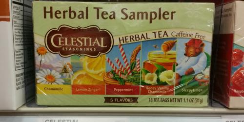 New $1/2 Celestial Seasonings Tea Coupon = As Low As $1.04 Per Box At Target (Regularly $2.44)