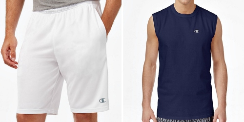 Macy's.com: Champion Shorts ONLY $5.99 (Regularly $25) + More