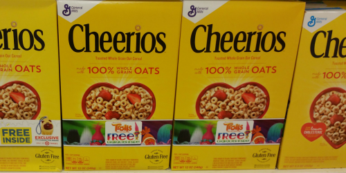 2 NEW General Mills Coupons = Cheerios Only $1.69 Per Box at Target