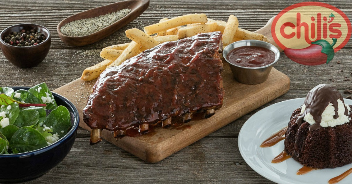 picture relating to Chili's Menu With Prices Printable named Chilis Bar Grill: 3-Training course Evening meal Merely $10 (Incorporates