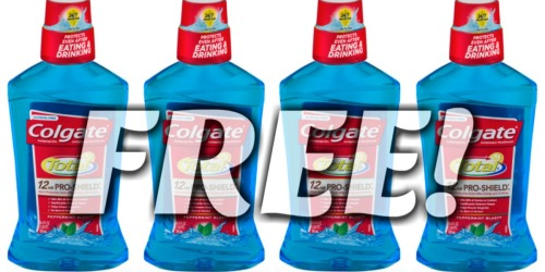Walgreens: TWO FREE Colgate Mouthwashes (After Rewards)