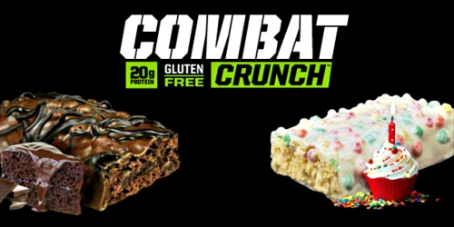 Amazon: Muscle Pharm Combat Crunch 12-Count Bars as Low as Only $1.11 Each Shipped