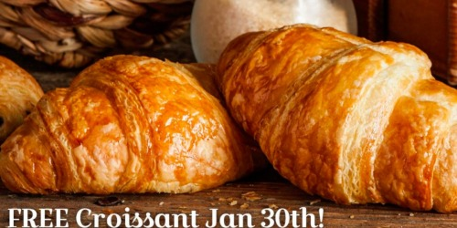 La Madeleine: FREE All-Butter Croissant (January 30th)