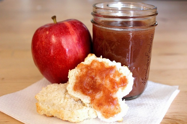 3-Ingredient slow cooker apple butter