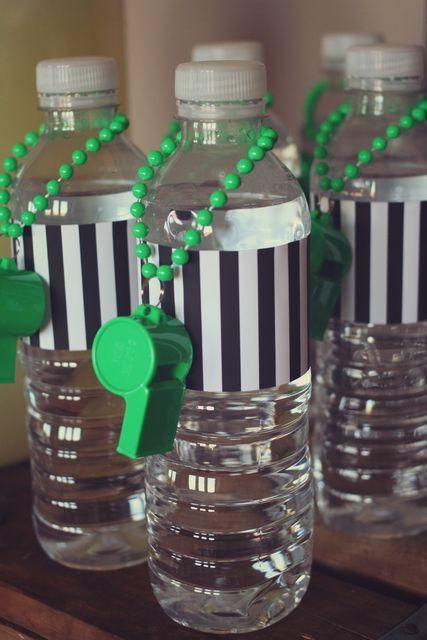 Super Bowl Referee Water Bottles