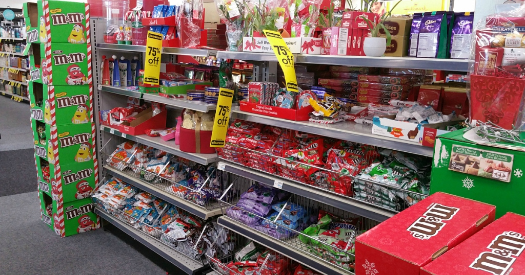 CVS: Christmas Clearance NOW 75% Off = Holiday M&M's ONLY 34¢ Per