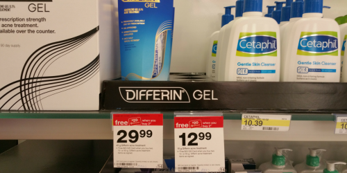 Target: *HOT* FREE Differin Acne Treatment (After Gift Cards)