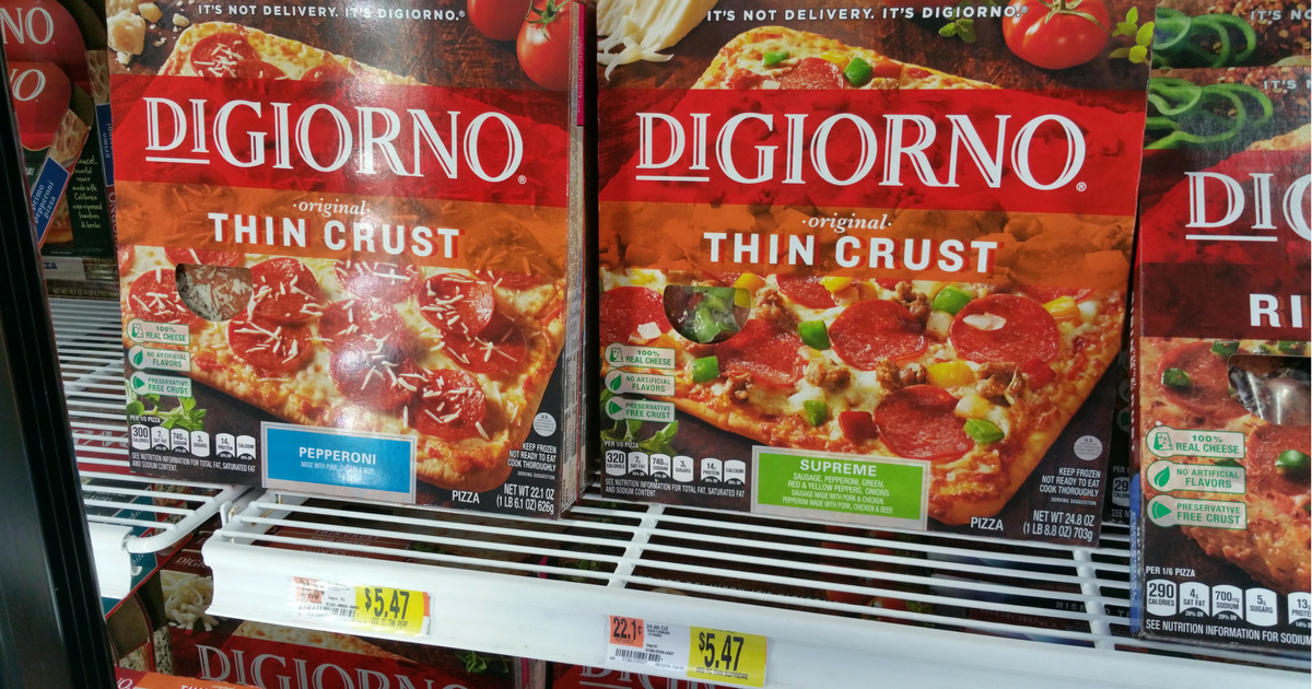 How Much Is A Digiorno Pizza At Walmart