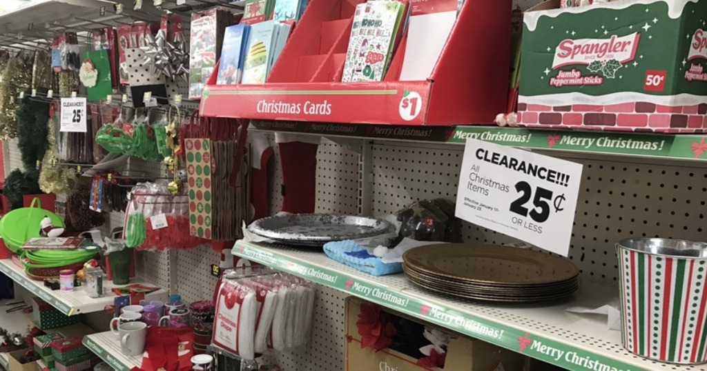 Dollar General Shoppers! Christmas Clearance Items Now ONLY 25¢ Each ...