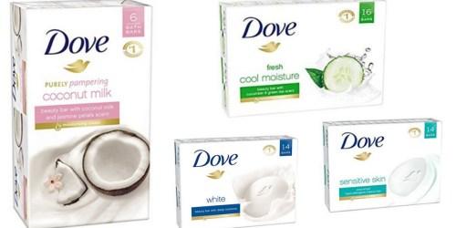Amazon: BIG Savings on Dove Bar Soap & More