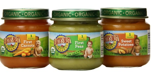Amazon: Earth's Best Organic Baby Food Only 40¢ Per Jar Shipped