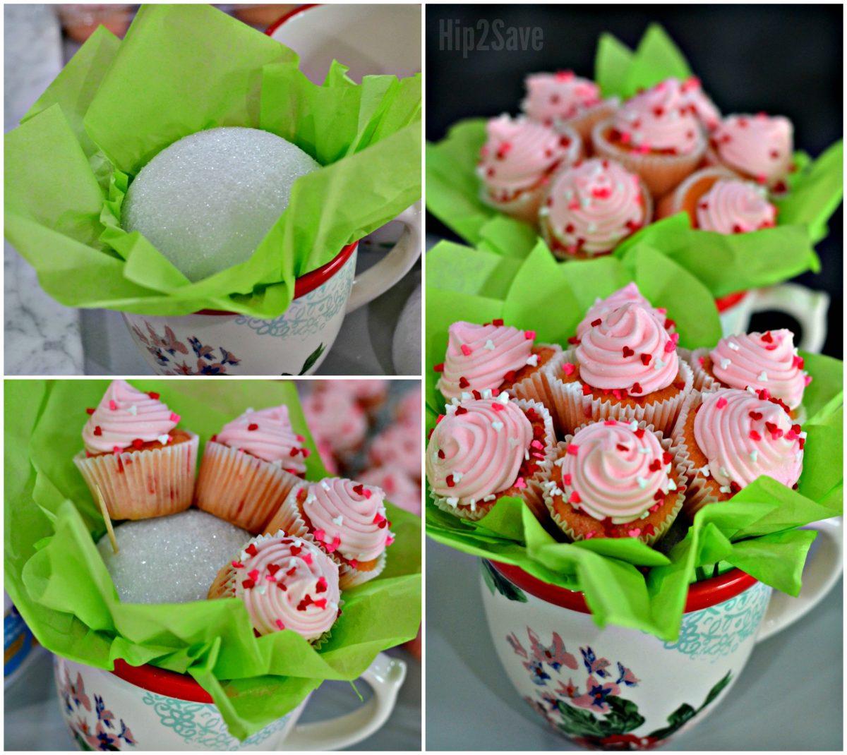 Diy Mini Cupcake Flower Bouquets Fun Unique Gift Idea Hip2save