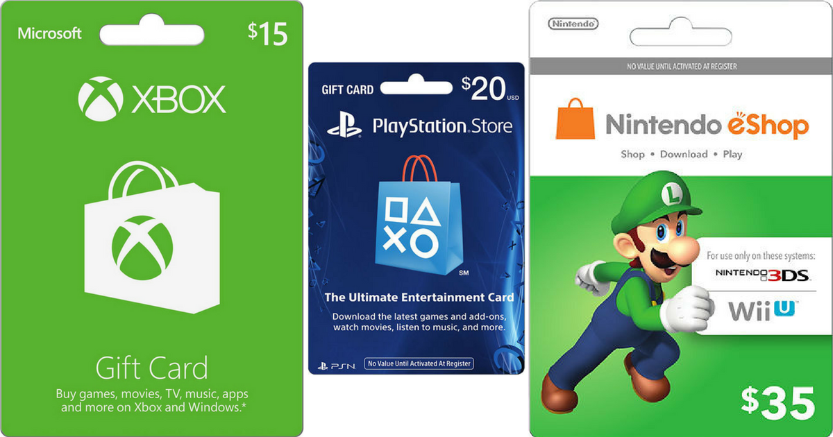 75 Worth Of Microsoft Xbox Gift Cards Only 60 More Gift Card Deals Hip2save