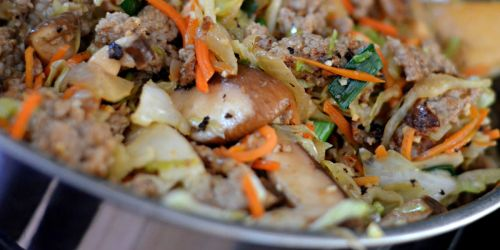 Egg Roll in a Bowl (Easy Low Carb Recipe Idea)