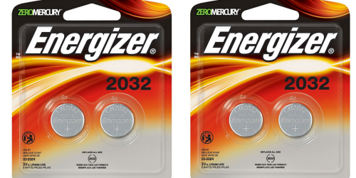 Amazon: Energizer 2032 Watch Batteries Only $1.79 Shipped
