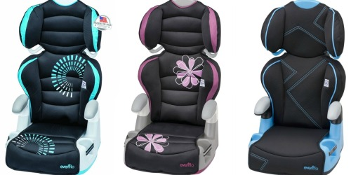 Evenflo Big Kid Amp Booster Car Seat Only $24.88 (Regularly $65)