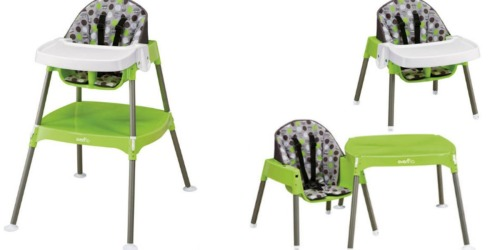Evenflo Convertible High Chair Only $29.88 (Regularly $60)