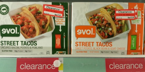 Target: Evol Street Tacos Possibly Only $0.98 (Regularly $3.99)