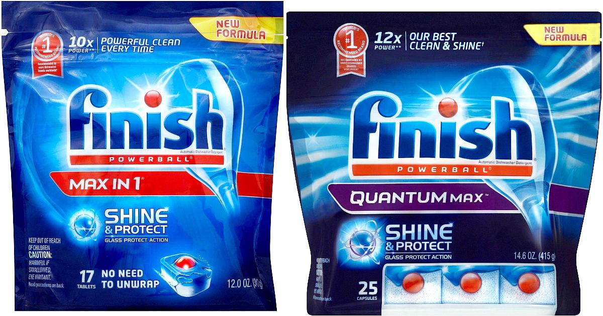 High Value 2 1 Finish Quantum Dishwasher Detergent Coupon Target Deals Hip2save