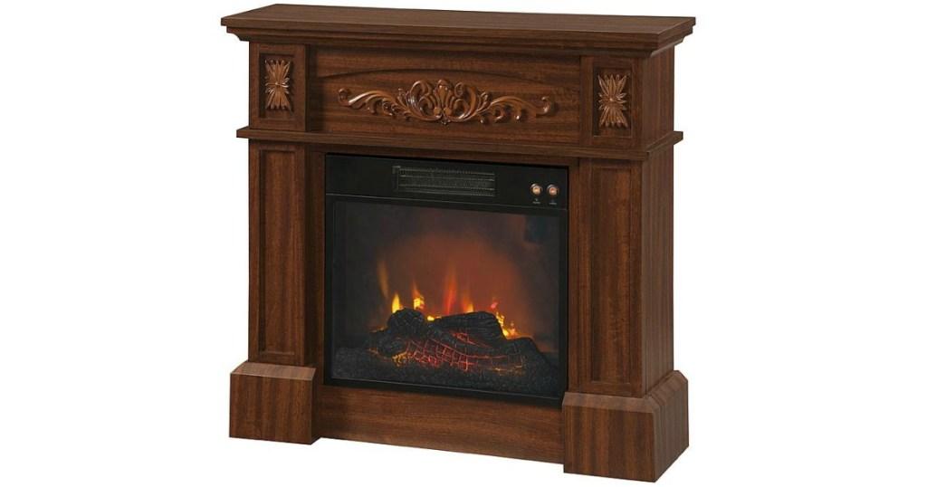 Kmart Livingston Electric Fireplace Only 99 99 Reg 159 99